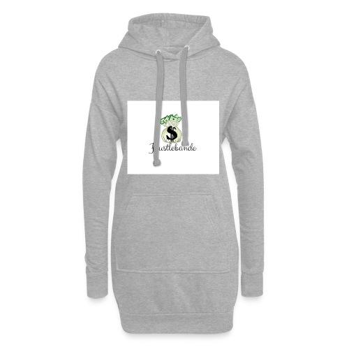 Hustlebande Logo - Hoodie-Kleid