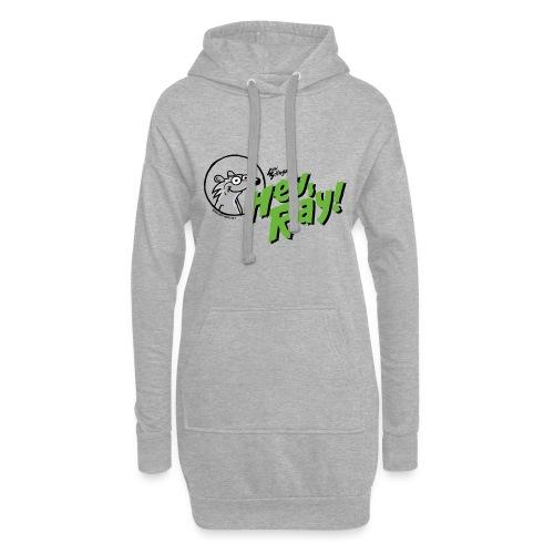 Hey Ray Logo green - Hoodie-Kleid