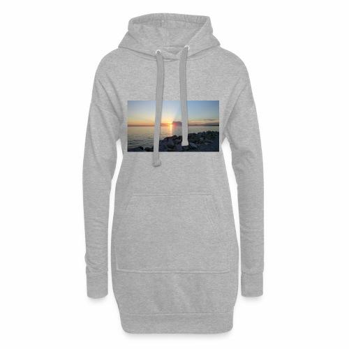 Sonnenuntergang - Hoodie-Kleid