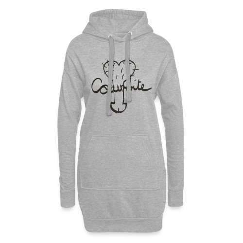 Coeurbite - Sweat-shirt à capuche long Femme