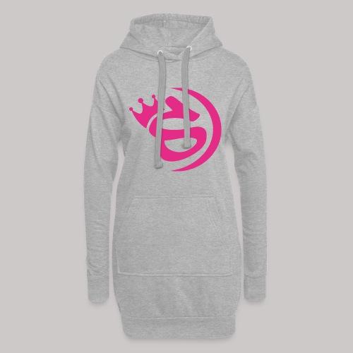 S pink - Hoodie-Kleid