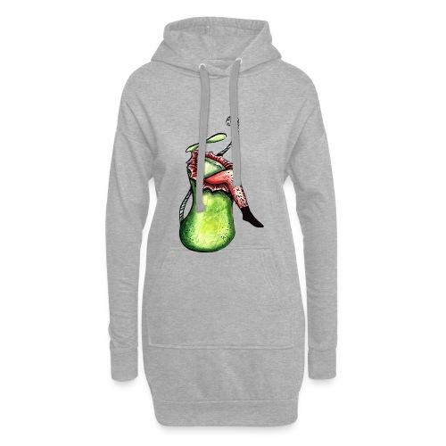 Sarracenia hat Hunger - Hoodie-Kleid