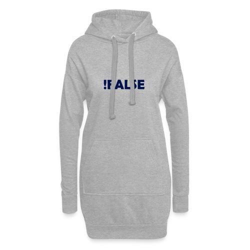 !False - Hoodie-Kleid