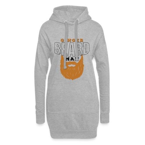 Beard Ginger Beard Man Redhead Gifts For Men - Hoodie-Kleid