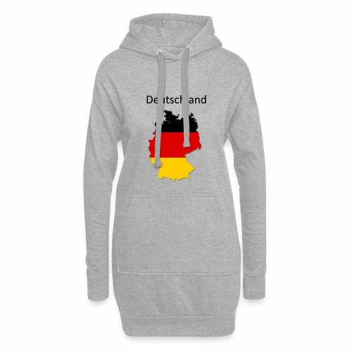 Deutschland Karte - Hoodie-Kleid