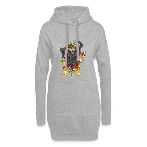 Bitcoin Monkey King - Beta Edition - Hoodie-Kleid