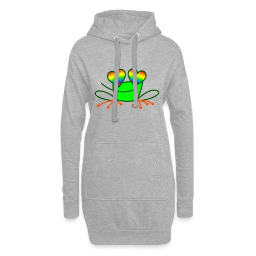 Pride Frog in Love - Hoodie Dress