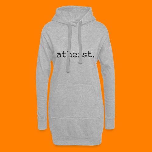 atheist BLACK - Hoodie Dress