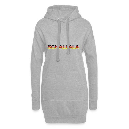 Schallala - Hoodie-Kleid