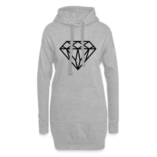 Diamond Graphic // Diamant Grafik - Hoodie-Kleid