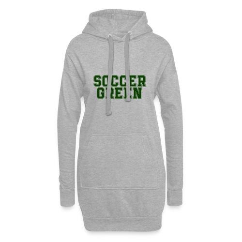 Soccer Green Style Text - Vestitino con cappuccio