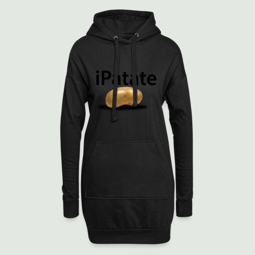 iPatate - Sweat-shirt à capuche long Femme