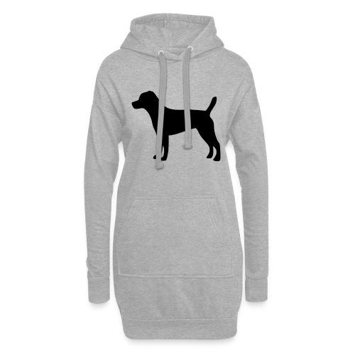 Patterdale Terrier - Hoodie-Kleid