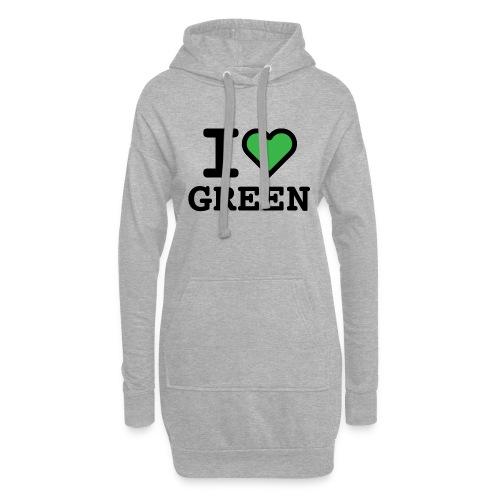 i-love-green-2.png - Vestitino con cappuccio