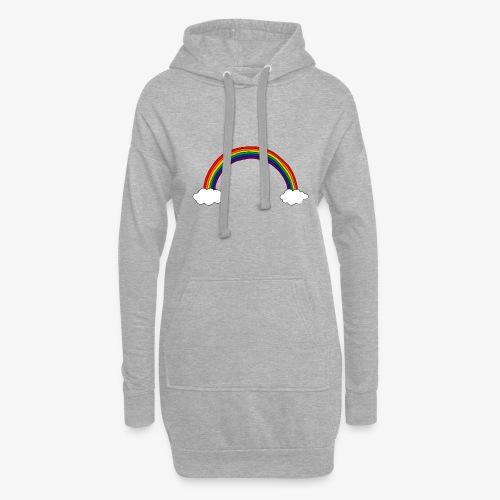 Regenbogen - Hoodie-Kleid