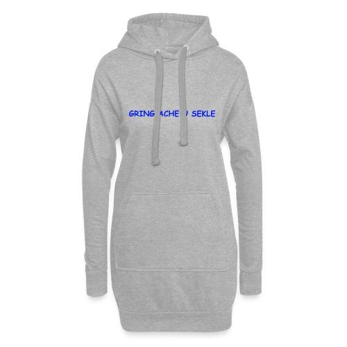 Gring ache u sekle - Hoodie-Kleid