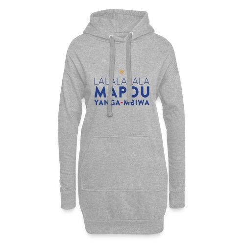 Mapou YANGA-MBIWA - Sweat-shirt à capuche long Femme