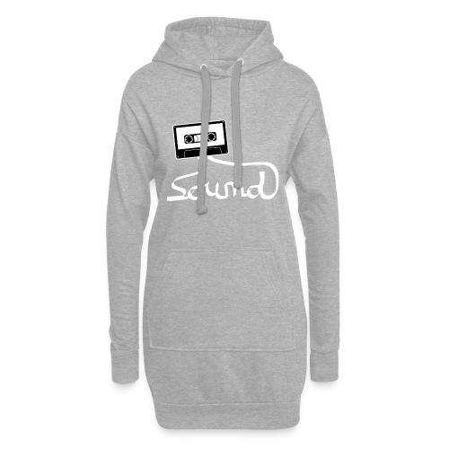 camiseta_Sound-png - Sudadera vestido con capucha
