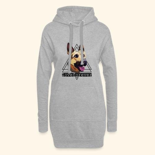 SHEPHERD LOVE FOREVER - Sudadera vestido con capucha