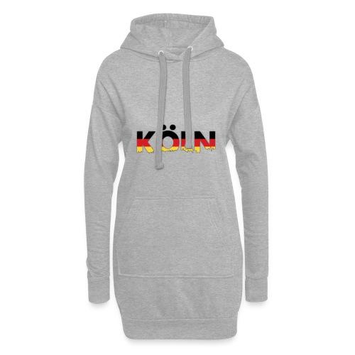 Köln Typografie - Hoodie-Kleid