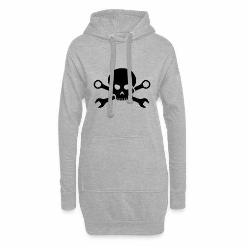 Skull'n'Tools Pirate Skull - Hoodie Dress