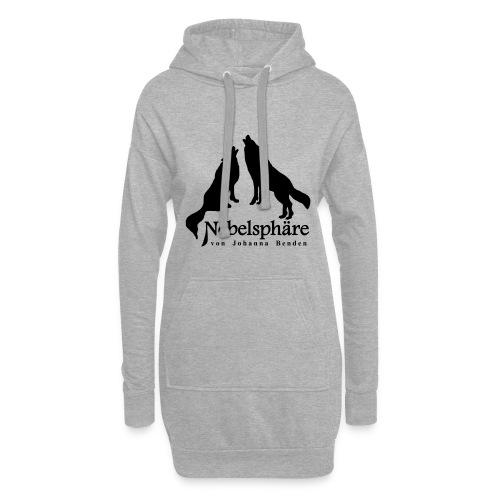 Wölfe Nebelsphäre - Hoodie-Kleid