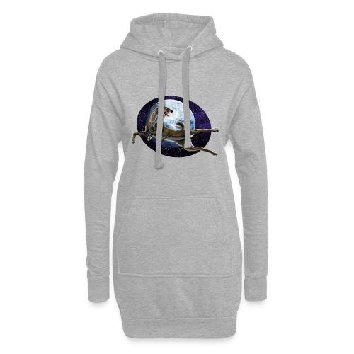 Galaxy Wolf - Hoodie-Kleid