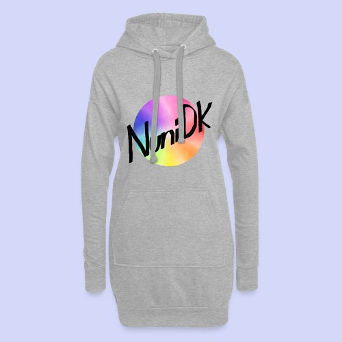 Rainbow shade, NuniDK Collection - Female top - Hoodie-kjole