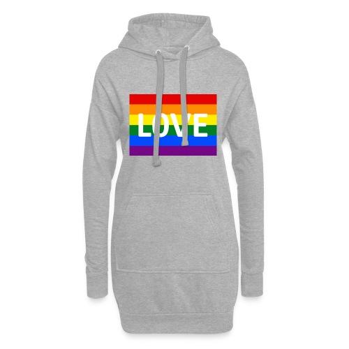 LOVE SHIRT - Hoodie-kjole