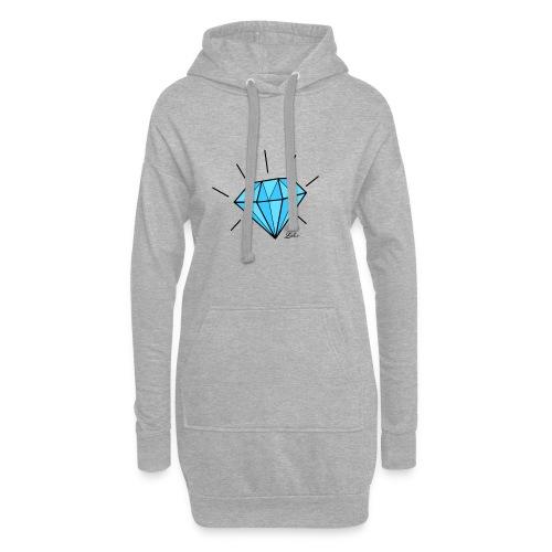 diamant-22466 - Vestitino con cappuccio