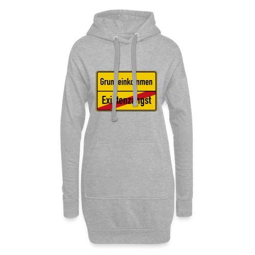 Grundeinkommen BGE - Hoodie-Kleid