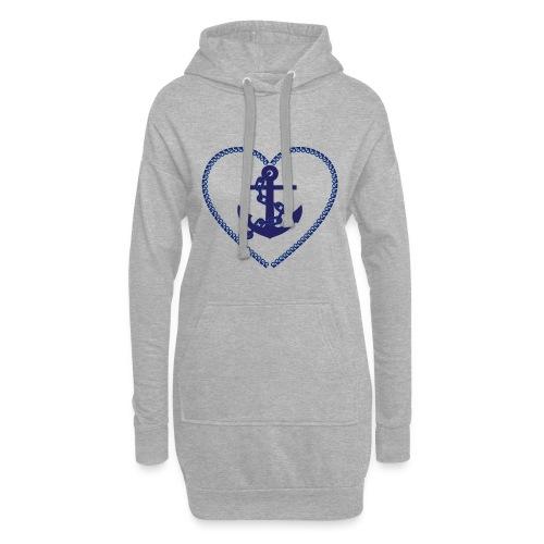 anchor - Anker - Hoodie-Kleid