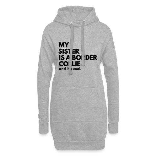 MSB_TEE_SISTER - Sweat-shirt à capuche long Femme