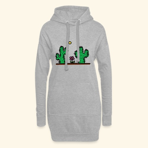 Cactus - Vestitino con cappuccio