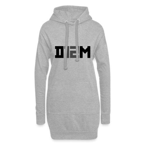 D12M: SHORT BLACK - Hoodiejurk