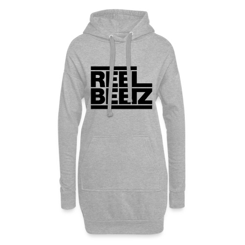 REEL BEETZ schwarz - Hoodie-Kleid