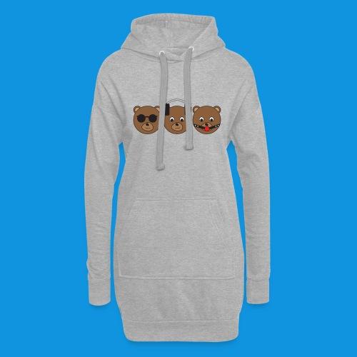 3 Wise Bears - Hoodie Dress