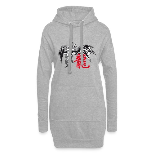 THE YEAR OF THE DRAGON ( - Hoodie Dress