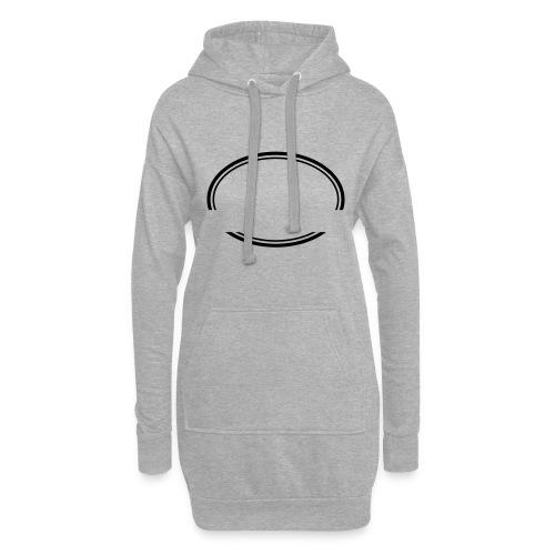 Kreis offen - Hoodie-Kleid