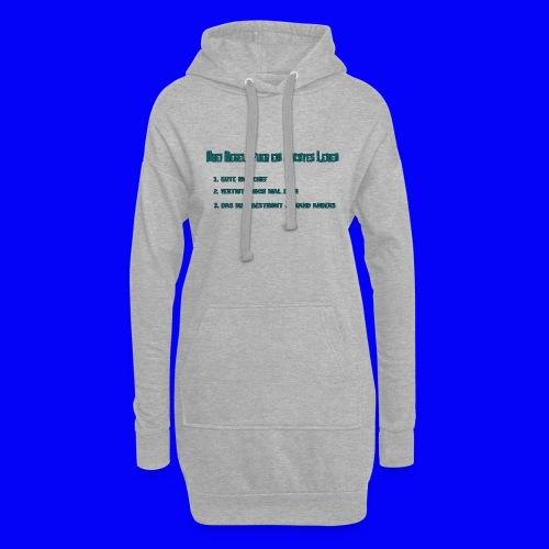 LebensRegeln - Hoodie Dress
