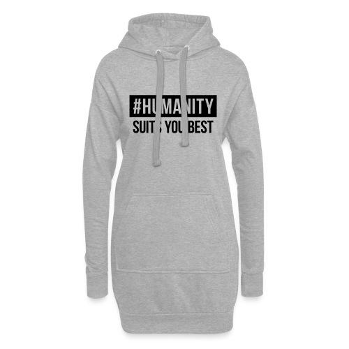 women's Premium T-Shirt #humanity - Hoodie-Kleid
