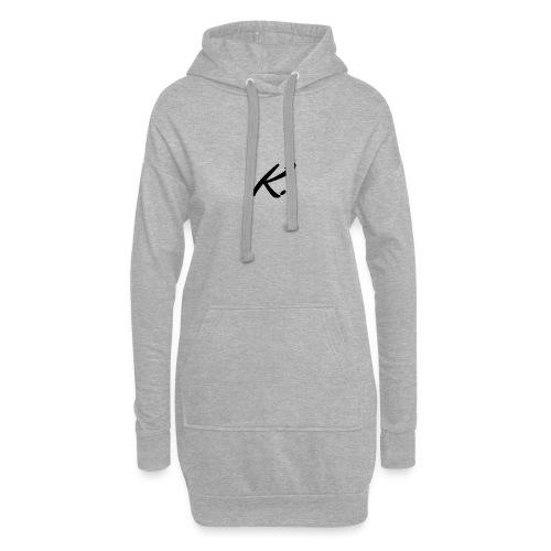 K - Sweat-shirt à capuche long Femme