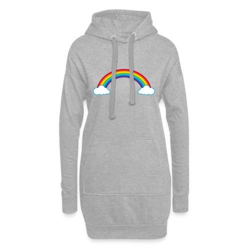 Regenbogen Sonne Herz Rainbow Cloud Heart - Hoodie Dress