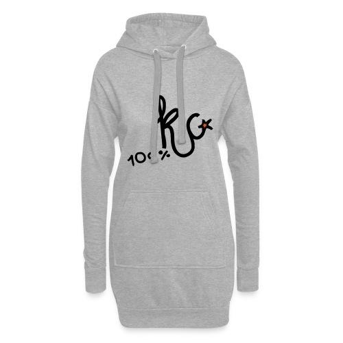 100%KC - Hoodiejurk