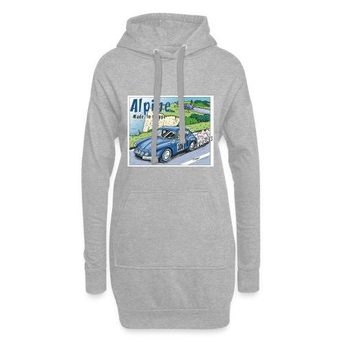 Polete en Alpine 106 - Sweat-shirt à capuche long Femme