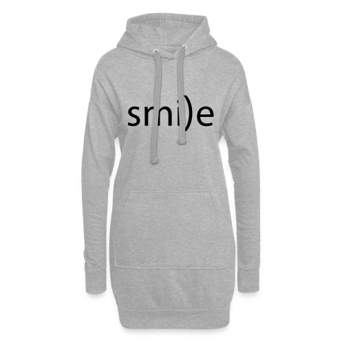 smile Emoticon lächeln lachen Optimist positiv yes - Hoodie Dress