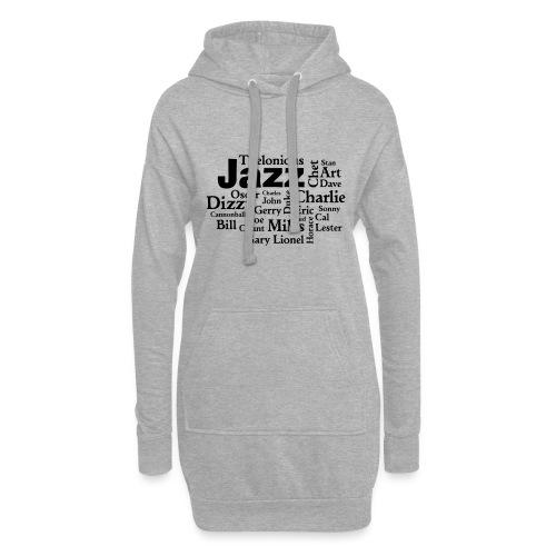 Jazz Greats - Hoodie-Kleid