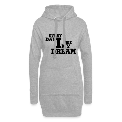 every day i see my dream - Hoodie-Kleid