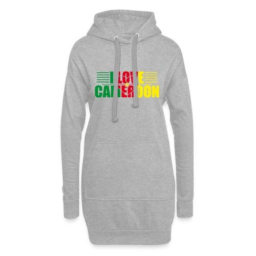 love cameroun - Sweat-shirt à capuche long Femme