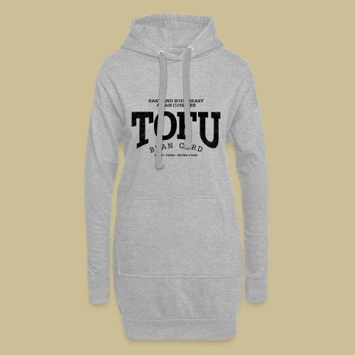 Tofu (black oldstyle) - Hoodie-Kleid